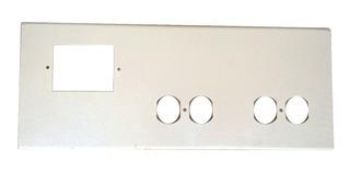 Tapa Troquel Triple Canaleta Metalica Electrico Datos 9 Und