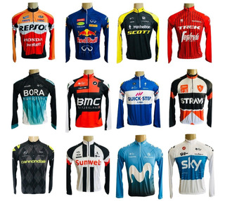Camisa Ciclismo Mtb Manga Longa *36 Modelos* P-m-g-gg-3g-4g