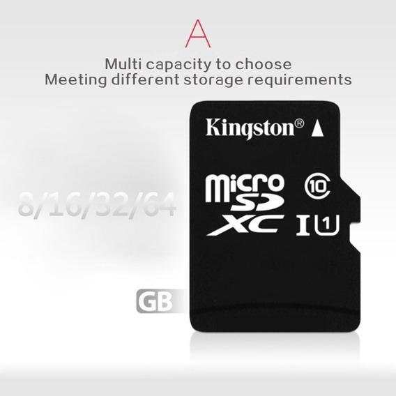 Cartão De Memória Micro Sd Kingston 16gb/32gb C10+adaptador