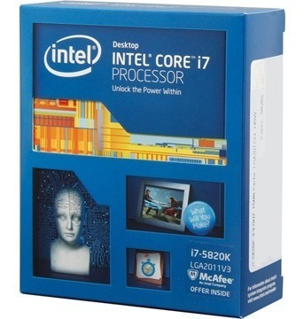 Processador Intel Core I7 5820k