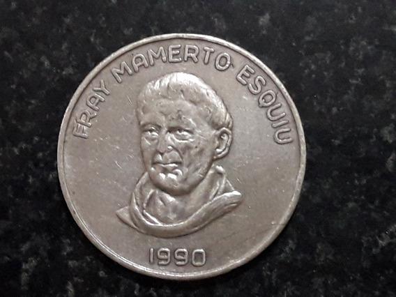 Moneda Esquiu De Plata De Catamarca