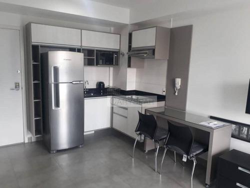 Imagem 1 de 21 de Flat Locação 01 Dormitório - Chác. Sto. Antonio - Fl5154