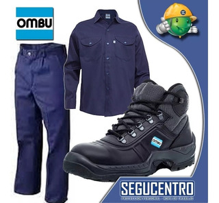 Conjunto De Trabajo Ombu + Botin Ombu Ozono Fact A