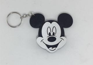 70 Chaveiros Mickey Minnie Personalizados Mdf Lembrancinhas