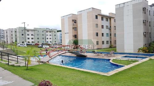 Imagem 1 de 30 de Apartamento Com 2 Dormitórios À Venda, 42 M² Por R$ 170.000,00 - Tarumã - Manaus/am - Ap3436