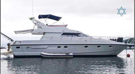 Lancha Oceanic 44 Barco Iate N Phantom Cimitarra Azimut