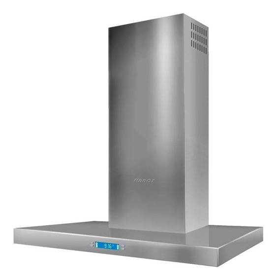 Campana Digital Llanos Acero Premium 60cm Lcd 3 Vel *10