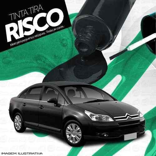 Tinta Tira Risco Automotivo Citroen C4 Preto Noir Obsidi Tmc