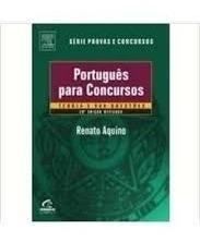 Livro Português Para Concursos- Teor Aquino, Renato