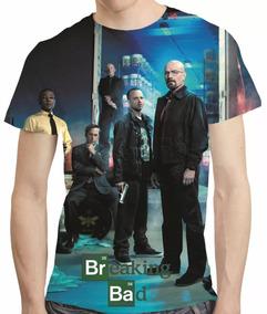 Camisa Breaking Bad Camiseta Temporada 4 - Estampa Total