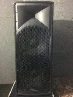 Cabina Pasiva Doble Sk-2154 Parlante Loudspeaker Skp Pro Aud