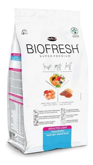 Ração Biofresh Light Para Cães Adultos Raças Médias 12kg