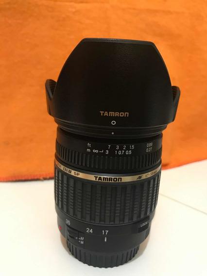 Lente Tamron 17-55 F2.8 Canon Novíssima
