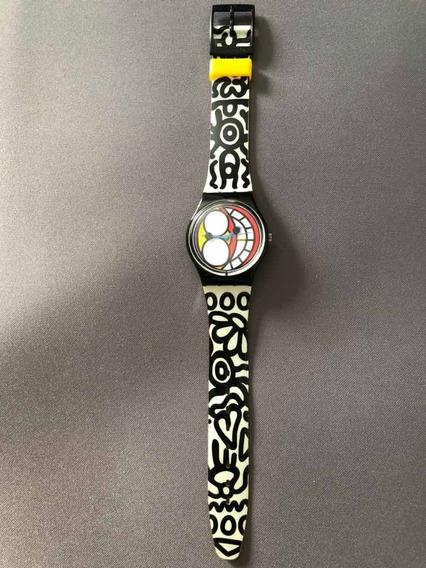 Relógio Swatch Limited Edition S 11 Na Caixa Original