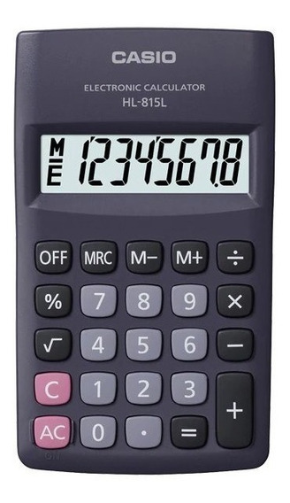 Calculadora De Bolsillo Casio Hl 815l Original Tienda Fisica