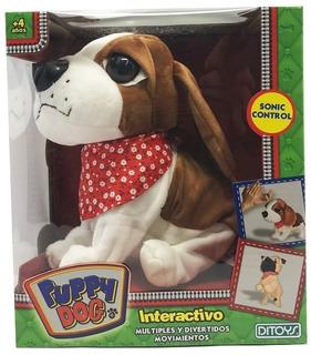Perro Peluche Interactivo Puppy Dog * Jugueteria Boutique