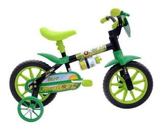Bicicleta Masculina Infantil Lion Aro 12 Nathor