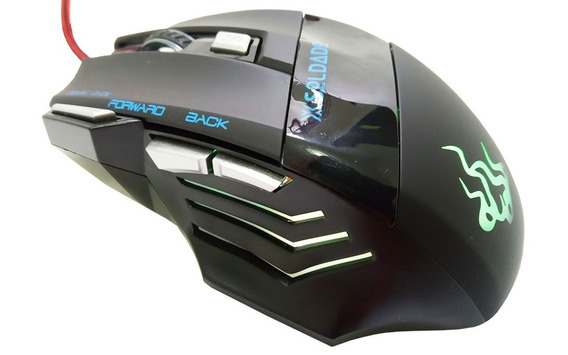 Mouse Gamer X Soldado Gm-700 League Of Legends Counterstrike