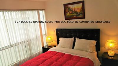San Miguel Lima Amoblado Minimo 1 Semana (costo 27 $ X Dia)