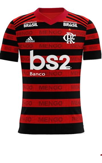 Flamengo Camisa Futebol Camiseta Mengao 2019 Time Torcida