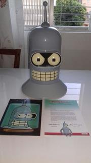 Coleção Futurama Cabeça Bender 19 Discos