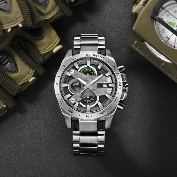 Relógio Masculino Temeite Edição Limitada Luxo Cronógrafo