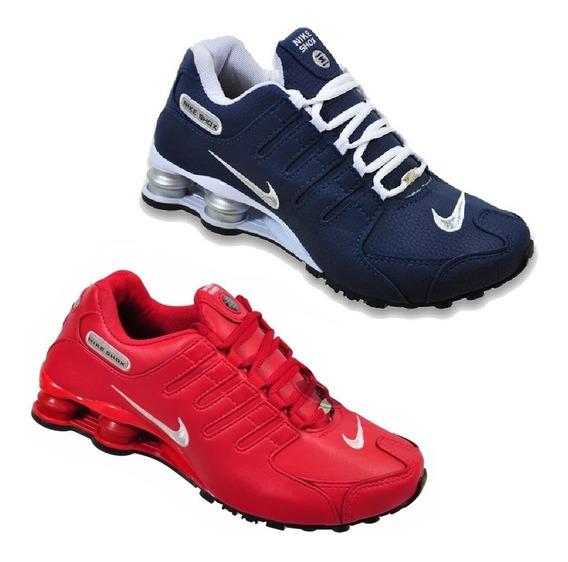 Tênis Nike Sxhox Nz 4 Molas Original Novo Na Caixa Promoção Queima De Estoque Pague 1 Leve 2 Kit Com 2 Pares Envio 24h