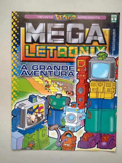 Revista Recreio Mega Letronix 104 A Grande Aventura C460