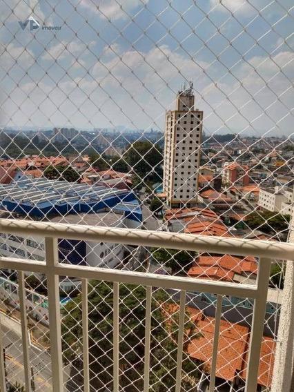 Apartamento Com 2 Dormitórios À Venda, 45 M² Por R$ 265.000 - Jardim Monte Alegre - Taboão Da Serra/sp - Ap0834