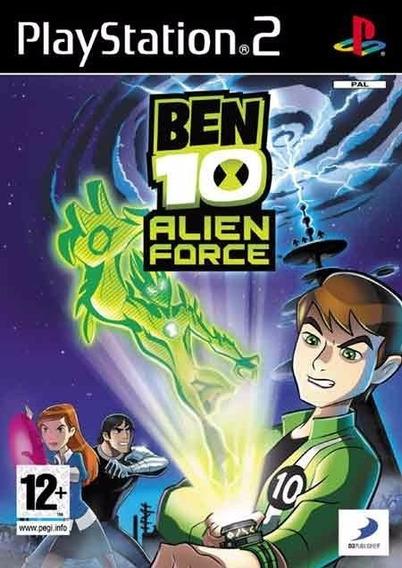 Jogo Ben 10: Alien Force The Game Ps2
