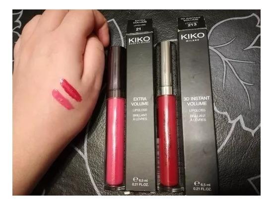 Labial Lipgloss Kiko Milano 3d Volume 213 Original Congreso