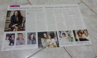 Material Avulso De Revista Viviane Pasmanter