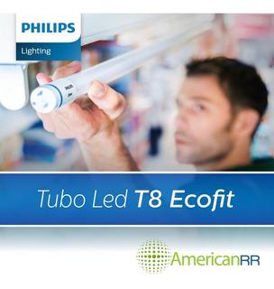Tubo Led Ecofit 120cm 16w T8 Philips