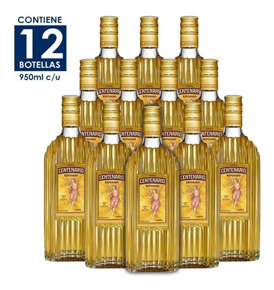 Tequila Gran Centenario Reposado De 950ml. Cj 12pzas.