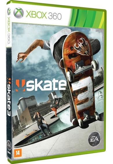 Skate 3 Xbox 360 Original Lacrado Midia Fisica