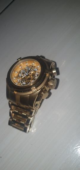 Relógio Invictar 1 Linha Top, Funciona Todos Os Ponteiros.