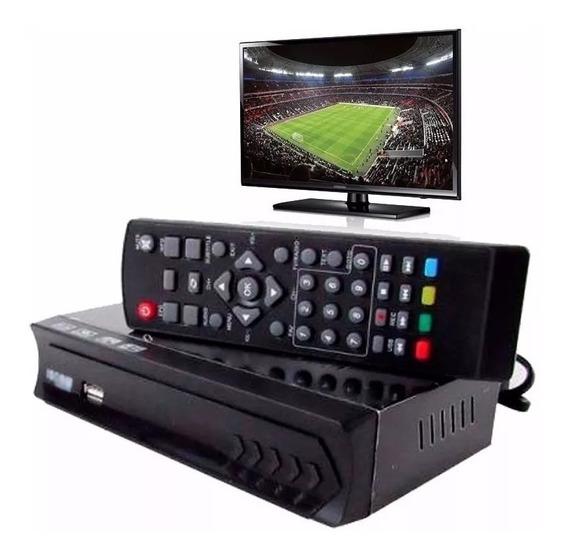 2 Conversor Tv Digital Gravador Hdmi Full Hd Entrada Usb