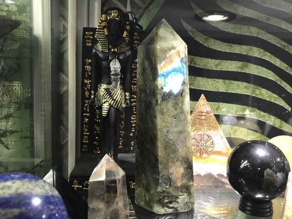 Obelisco De Labradorita .91 Kg Reiki, Meditación