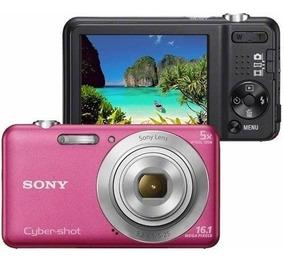 Câmera Fotográfica Digital Sony Dsc-w710 16.1 Mp Rosa