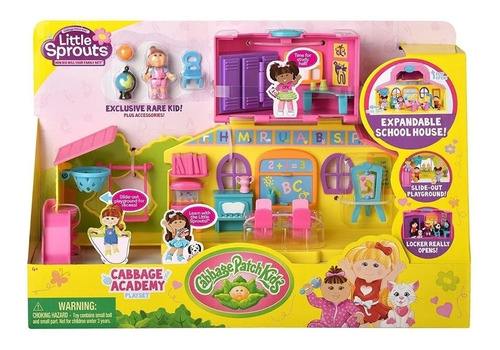 Little Sprouts Play Set Academia Cabbbage Toy 37305