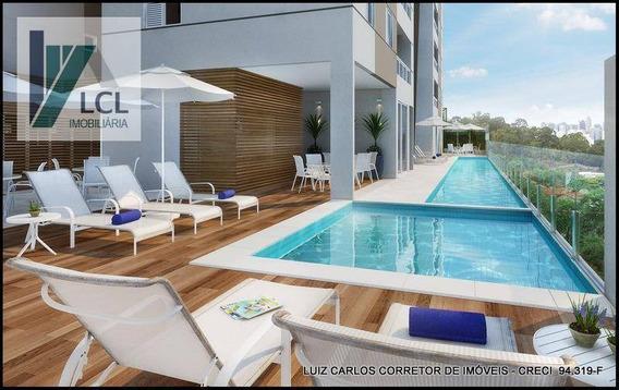 (construtora Esta Arcando Com Custo Da Documentação) Apartamento Com 2 Dormitórios À Venda, 61 M² Por R$ 270.000,00 - Parque Assunção - T.s. /sp - Ap0005