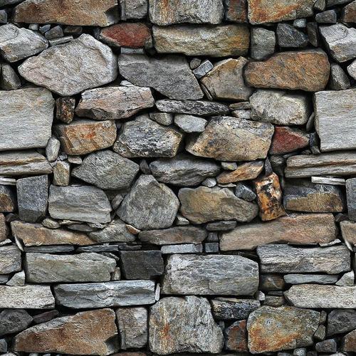 Imagen 1 de 4 de Empapelado Muresco Vinilizado Laja Piedra Papel Zen 34711