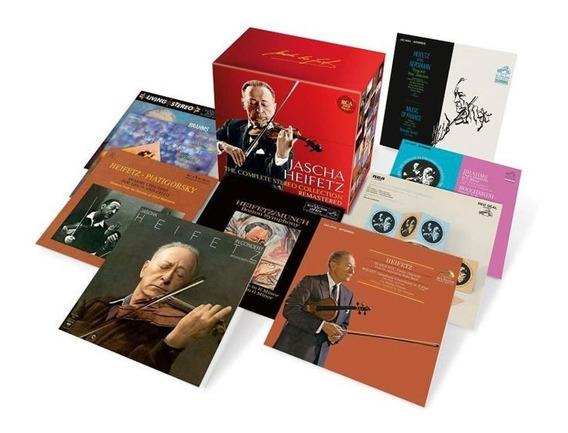 Jascha Heifetz - Coleção 24 Cd´s - Bach Mozart Beethoven Etc