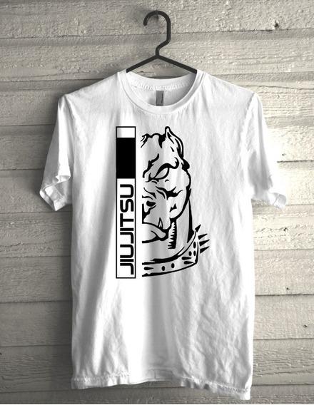 Camiseta Jiujitsu Faixa Branca