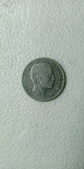 Moneda Italia Plata Lira 1907 Águila Muy Rara