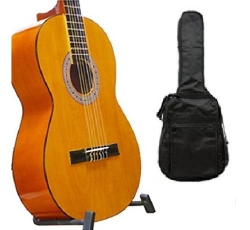 Guitarra Acustica Clasica + Forro+metodo+envio Gratis