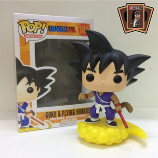 Funko Pop Goku & Flying Nimbus #109 - Miltienda Dragon Ball