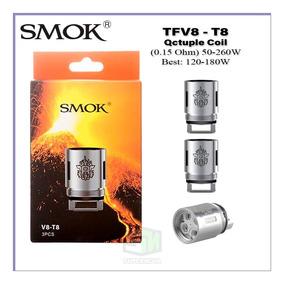 Resistência Coil Head Smok Tfv8-t8 3xunidades Original