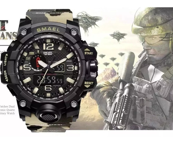 Relógio Militar Masculino Smael