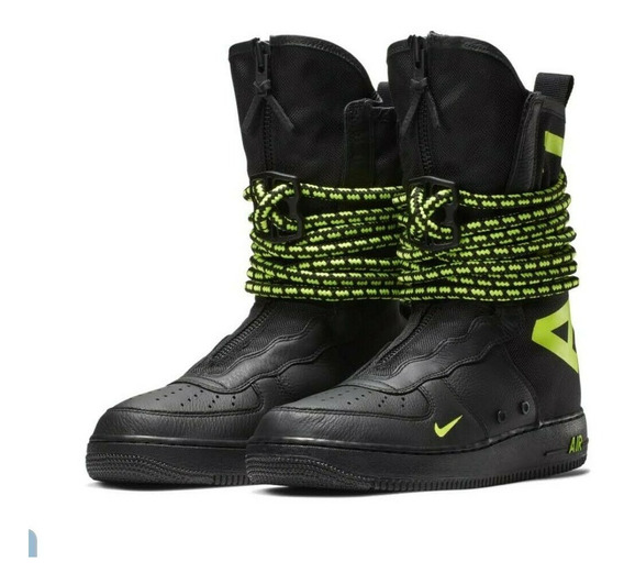 Nike Sf Af 1 Special Air Force One Volt Botas Botines 9 29